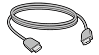 An illustration of the Xbox 360 HDMI Cable