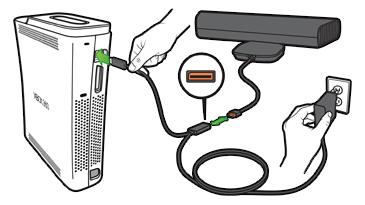 Xbox Kinect Insufficient Power | Xbox 360