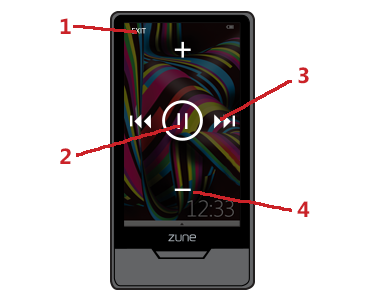 zune support how to use your zune player zune player rh support xbox com Microsoft Zune HD Specs Microsoft Zune HD Charger