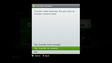 Xbox 360 Transfer Cable | Transfer to New Console | Xbox Hard Drive