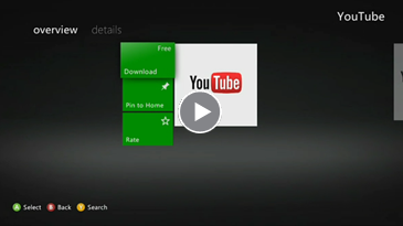 Set Up & Use the YouTube app on Xbox 360