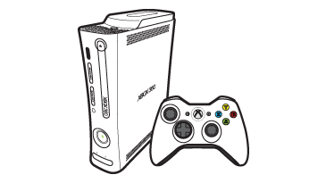 Alkuperäinen Xbox 360 -konsoli