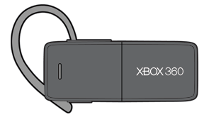 Ein Xbox 360 Wireless Headset mit Bluetooth.