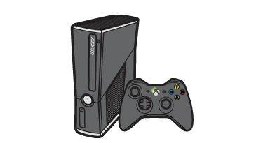 Xbox 360 S -konsoli