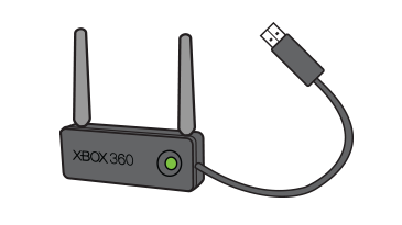 xbox 360 wireless n networking adapter install software for xbox rh support xbox com Xbox 360 Wireless Gaming Adapter Used Xbox 360 Wireless Adapter