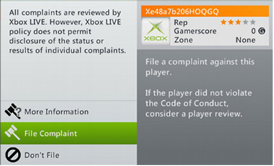 Picture showing gamerscore on Xbox 360 dashboard