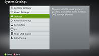 How to clear your Xbox 360 system cache