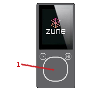 zune support how to use your zune player zune player rh support xbox com iPod Nano 6th Generation Manual iPod Shuffle 2nd Generation Manual