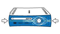 Η πρόσοψη της αρχικής κονσόλας Xbox 360
